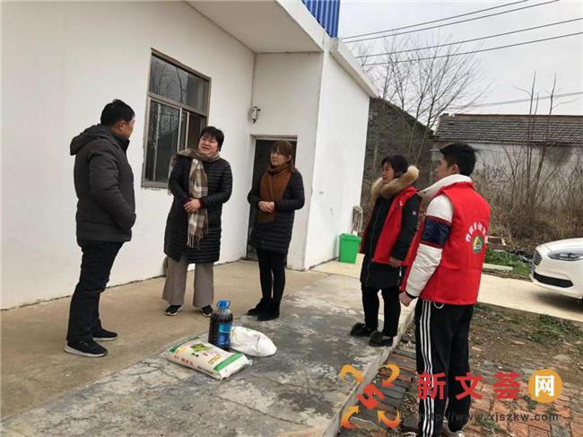 南京六合竹鎮鎮便民服務中心春節慰問計生特殊家庭,真情幫扶溫暖人心