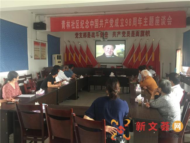 """南京江宁青林社区党总支开展""""践行初心使命"""