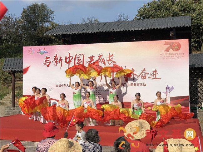 南京江宁孟塘社区文艺汇演庆国庆