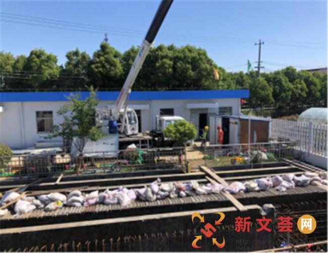南京六合龙池街道助力推进污水处理厂提标改造