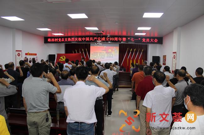 新時代文明實踐|南京江寧路西村開展慶祝建