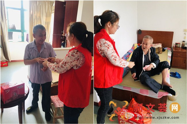新时代文明实践|南京江宁汤山社区开展双节前走访慰问活动