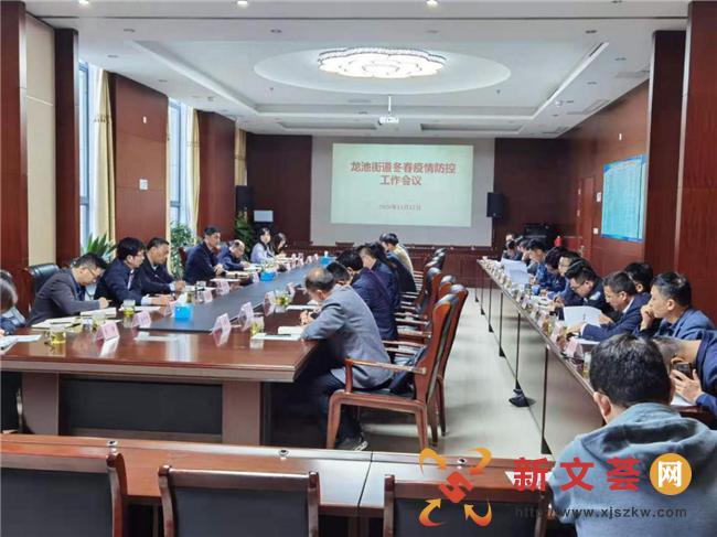 南京六合龙池街道召开冬春疫情防控工作会议