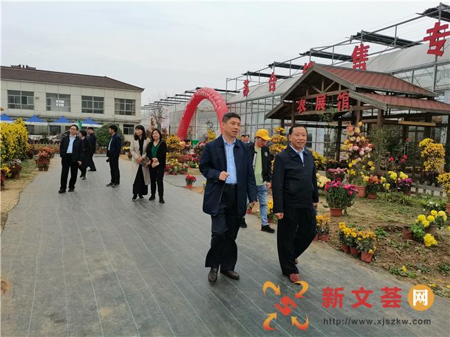 区政协农业和农村二组来南京六合龙池街道 调研苏康生态园