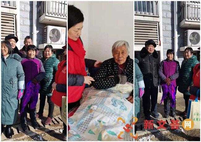 南京江宁秣陵街道家园社区开展寒冬走访慰问活动