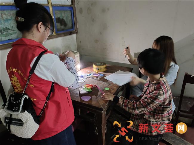 南京江宁谷里街道向阳社区开展困境儿童走访活动