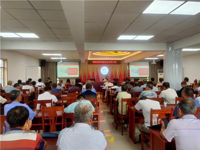 """南京江宁尚桥社区开展""""庆祝中国共产党创建100周年""""主题党日运动"""