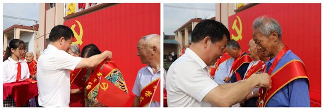 南京江宁谷里街道向阳社区开展庆祝中国共产党创建100周年党员大会