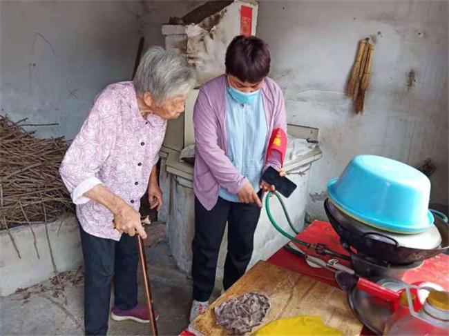 南京六合竹镇镇:关注燃气和平 建树幸福大泉